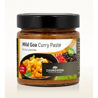 BIO Mild Goa Curry Paste, 175g